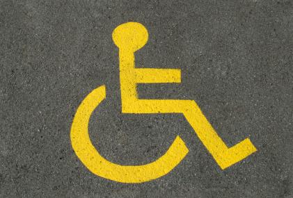 Signe de persones amb discapacitat