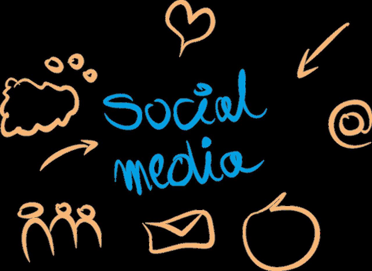 Dibujo engagement en social media